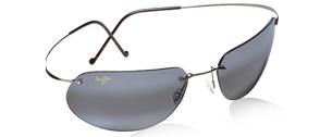799210cc8b8 Buy Maui Jim Sunglasses Rimless Metal Collection. Honolua Bay, Big ...